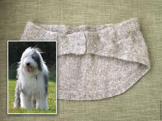 Спортивная одежда ручной работы. Ярмарка Мастеров - ручная работа. Купить Пояс из собачьей шерсти 90-105 см. Handmade.