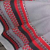 Материалы для творчества ручной работы. Ярмарка Мастеров - ручная работа Ткань полулен. Handmade.