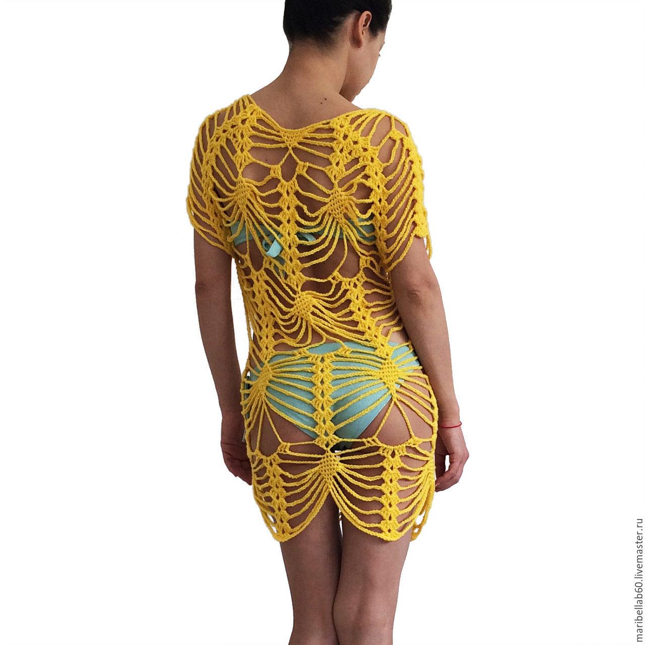 Платья туники для пляжа интернет магазин