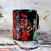 Посуда handmade. Livemaster - original item Marvel mug Avengers Avengers DC Marvel. Handmade.