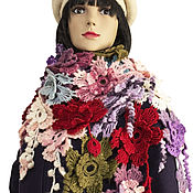 Аксессуары handmade. Livemaster - original item Scarves: Royal chic scarf.. Handmade.