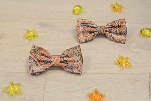 """Галстуки, бабочки ручной работы. Ярмарка Мастеров - ручная работа. Купить Бабочка-галстук """"Осень-осень"""". Handmade. Бабочка на осень"""