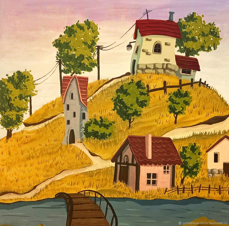 Деревня, Иллюстрации, Екатеринбург,  Фото №1