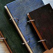 Канцелярские товары handmade. Livemaster - original item Coloured wood notepads. Handmade.
