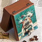 Для дома и интерьера handmade. Livemaster - original item Stash tea
