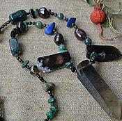 """Украшения ручной работы. Ярмарка Мастеров - ручная работа ожерелье """" Меч темного солнца"""". Handmade."""
