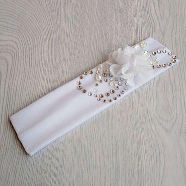 Clothing handmade. Livemaster - original item Bandage for girls 4-6 years.. Handmade.