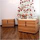 """Мебель ручной работы. Сундук  """"Эльза"""". Сундуки и изделия из дерева. Ярмарка Мастеров. Натуральное дерево, винтажный стиль, сундук, латунь"""