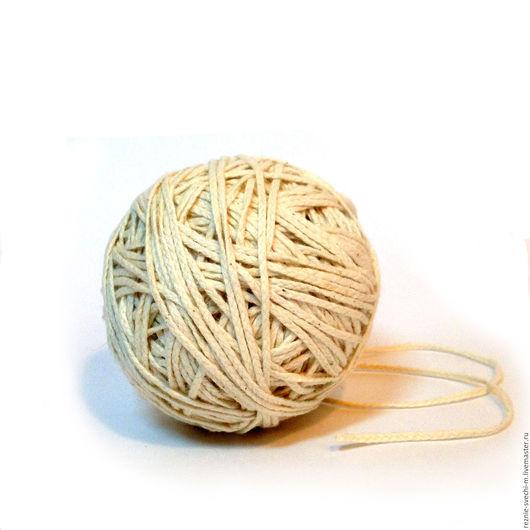 Другие виды рукоделия ручной работы. Ярмарка Мастеров - ручная работа. Купить Фитиль свечной косичка 30 нитей. Handmade.