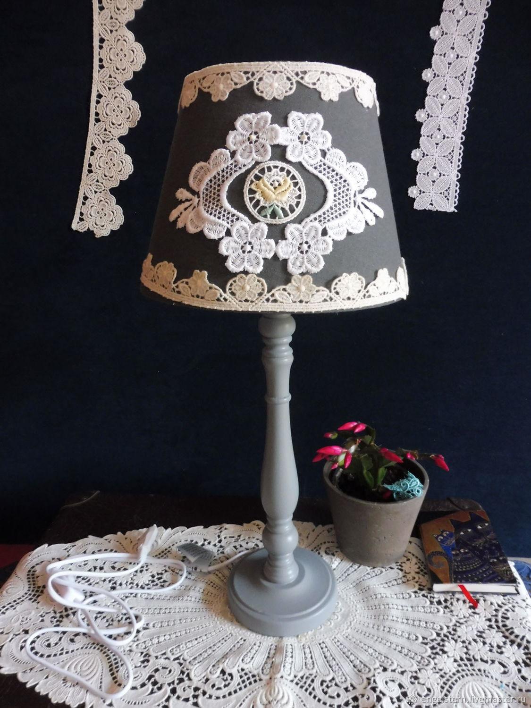 "Настольная лампа "" Кружевная жемчужина"" (желтый), Ceiling and pendant lights, Gera,  Фото №1"