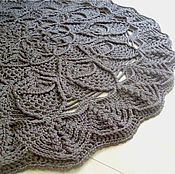 Для дома и интерьера handmade. Livemaster - original item carpet knitted relief from the pinch of Pineapple. Handmade.