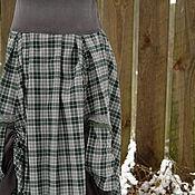 """Одежда ручной работы. Ярмарка Мастеров - ручная работа юбка """"карельское болото засыпает"""". Handmade."""