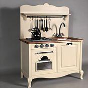 Игрушки ручной работы. Ярмарка Мастеров - ручная работа Игрушки: Детская игровая кухня деревянная. Handmade.