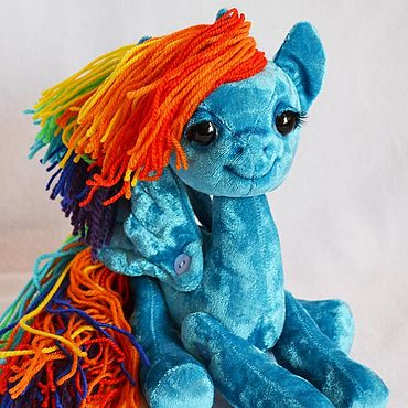 Куклы и игрушки ручной работы. Ярмарка Мастеров - ручная работа Пони Радуга (My Little Pony). Handmade.