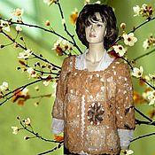 Одежда ручной работы. Ярмарка Мастеров - ручная работа кардиган Весна. Handmade.