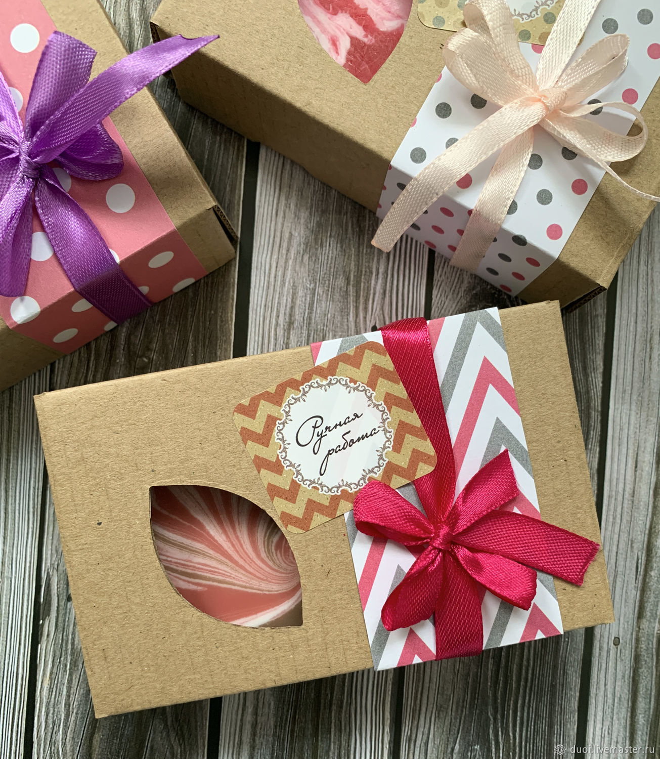 A gift box for soap, Packing box, Moscow,  Фото №1