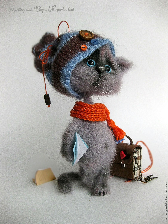 Ютуб мастер класс по вязанию шарф-кот пошаговый #9