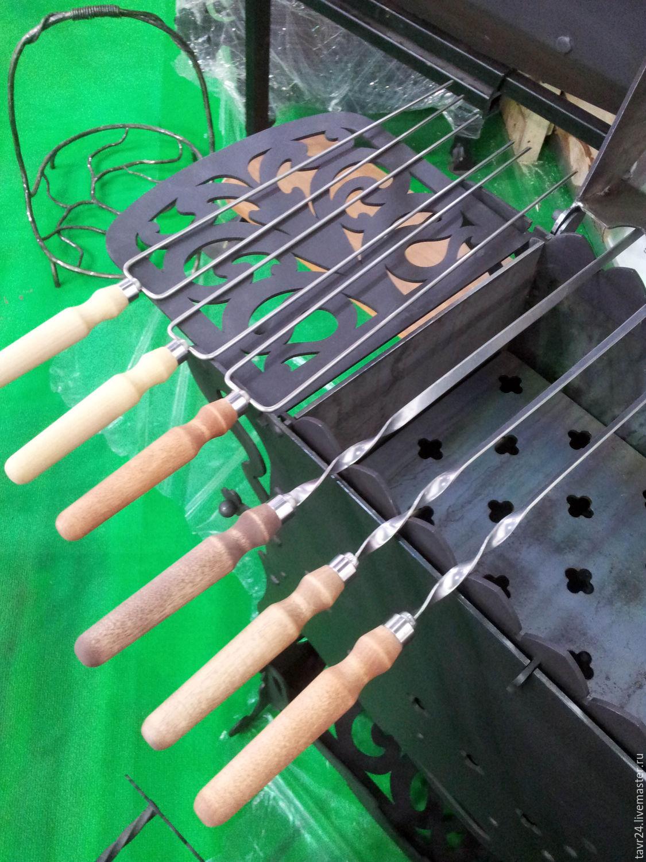 Ручка для шампуров своими руками