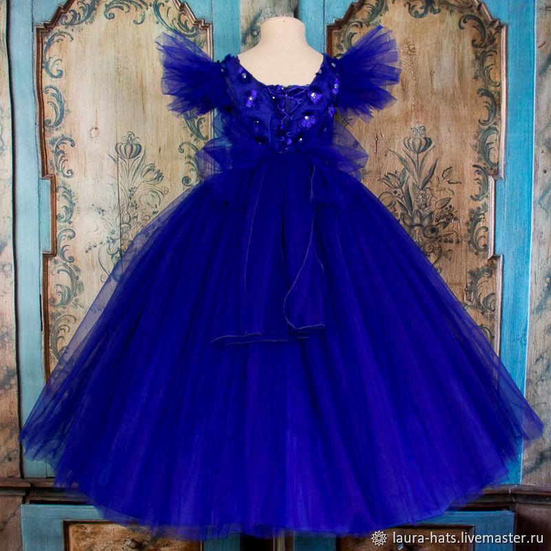 Нарядное платье для девочки на выпускной Детское, бальное платье