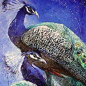 Картины и панно ручной работы. Ярмарка Мастеров - ручная работа Райские птицы. Handmade.