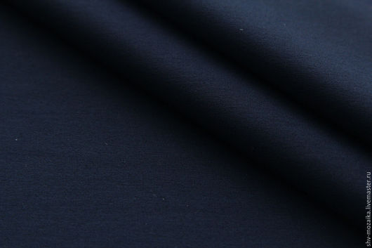 Шитье ручной работы. Ярмарка Мастеров - ручная работа. Купить Милано ПРЕМИУМ т.синий. Цена за метр.. Handmade.
