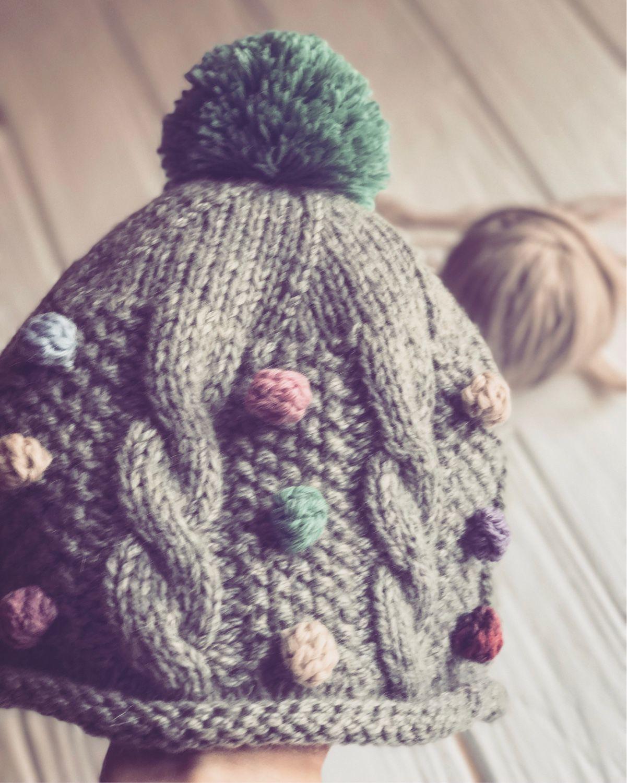 Вязаные зимние шапки Вязание Шапок Спицами и Крючком 30