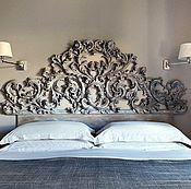Для дома и интерьера ручной работы. Ярмарка Мастеров - ручная работа Резная кровать. Handmade.