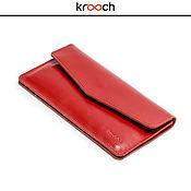 Сумки и аксессуары handmade. Livemaster - original item Leather wallet IRIS. Handmade.