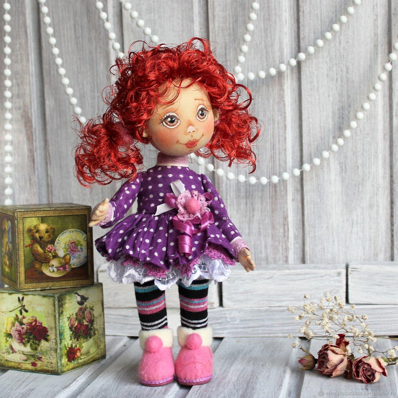 Куколка интерьерная текстильная Аллочка, Коллекционные куклы, Междуреченск, Фото №1