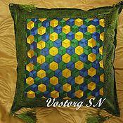 Для дома и интерьера ручной работы. Ярмарка Мастеров - ручная работа Нарядные подушки. Handmade.