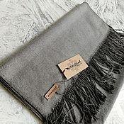Аксессуары handmade. Livemaster - original item Scarves: Handmade Woven Scarf Silk Cotton Cashmere. Handmade.