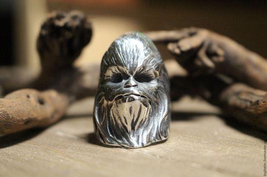 Кольца ручной работы. Ярмарка Мастеров - ручная работа. Купить Кольцо Чубакка / Chewbacca Ring. Handmade. Серебряный