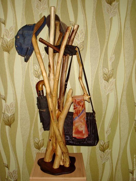 Прихожая ручной работы. Ярмарка Мастеров - ручная работа. Купить Шляпница. Handmade. Вешалка, перчатки, сосна