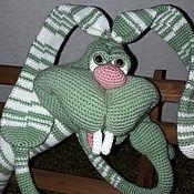 Куклы и игрушки handmade. Livemaster - original item crazy Bunny Cupcake. Handmade.