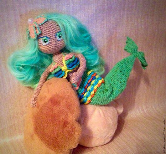 Портретные куклы ручной работы. Ярмарка Мастеров - ручная работа. Купить Кукла русалочка. Handmade. Мятный, кукла для девочки, красавица