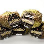 Материалы для творчества handmade. Livemaster - original item Yarn Brown Mix Noro Shiro. Handmade.