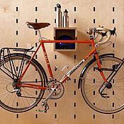 Хранение вещей ручной работы. Ярмарка Мастеров - ручная работа Фанера перфорированная , для верстака, стеновая панель перфорированная. Handmade.