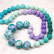 Украшения handmade. Livemaster - original item Emerald necklace spring. Handmade.