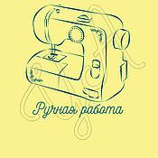 Дизайн и реклама ручной работы. Ярмарка Мастеров - ручная работа Логотип на фото для тех, кто шьет. Handmade.