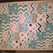 Для дома и интерьера ручной работы. Ярмарка Мастеров - ручная работа Конверт на выписку, лоскутное одеяло. Handmade.