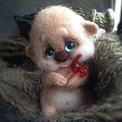 Куклы и игрушки ручной работы. Ярмарка Мастеров - ручная работа Малыш Щастье с леденцом;) (усыновлен). Handmade.
