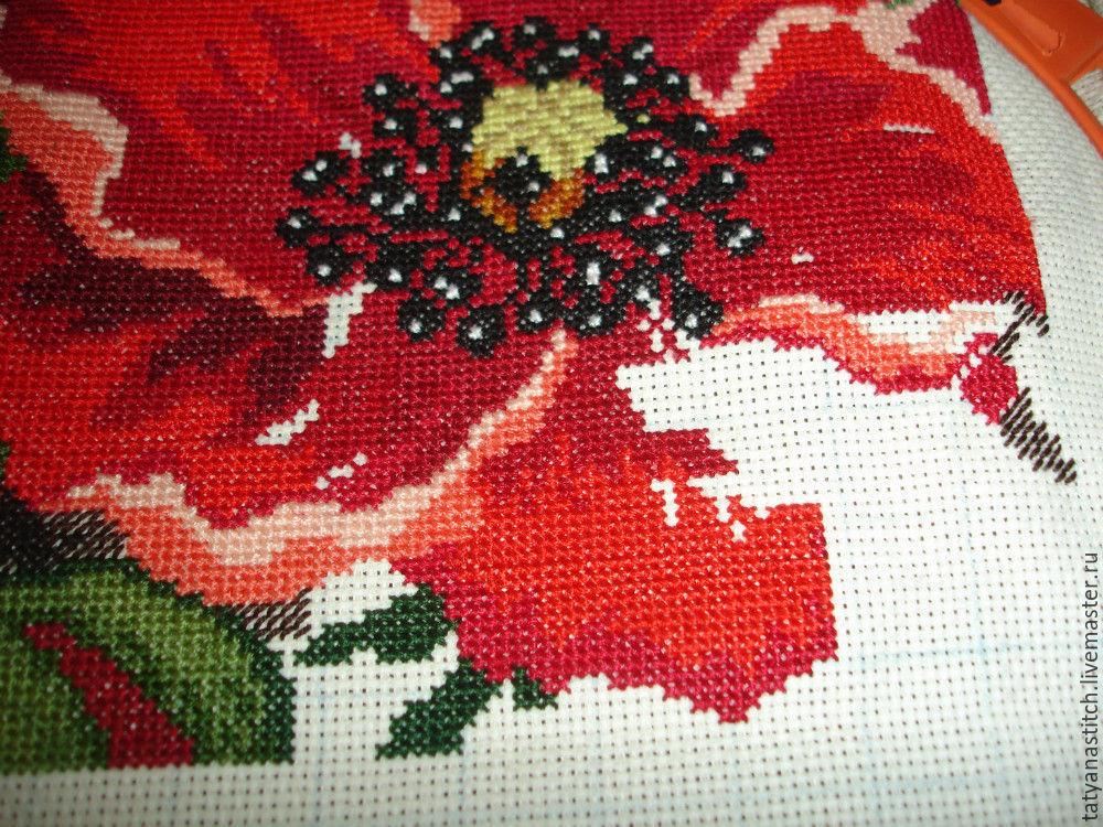 """Схема вышивки крестом """"Подушка"""