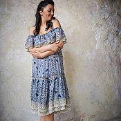 Одежда handmade. Livemaster - original item Dress with flounces