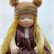 Куклы и игрушки ручной работы. Ярмарка Мастеров - ручная работа Нюрочка, вальдорфская кукла. Handmade.