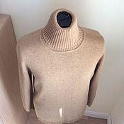 Одежда ручной работы. Ярмарка Мастеров - ручная работа Водолазка из 100% кашемира Loro Piana. Handmade.