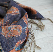Аксессуары handmade. Livemaster - original item Homespun wool scarf
