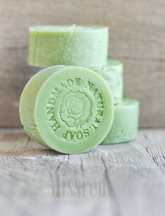 Мыло ручной работы. Ярмарка Мастеров - ручная работа. Купить Натуральное мыло Зеленый Чай. Handmade. Зеленый