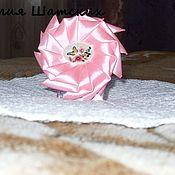 """Украшения ручной работы. Ярмарка Мастеров - ручная работа Резиночки-бантики """"Розовый рассвет"""". Handmade."""