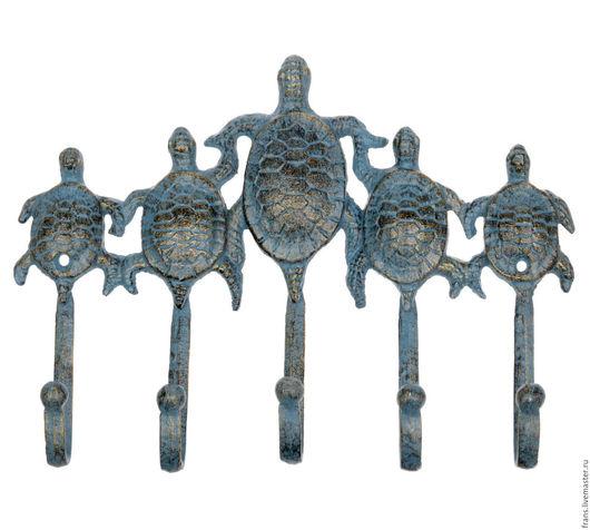 чугунные крючки для ванны черепашки