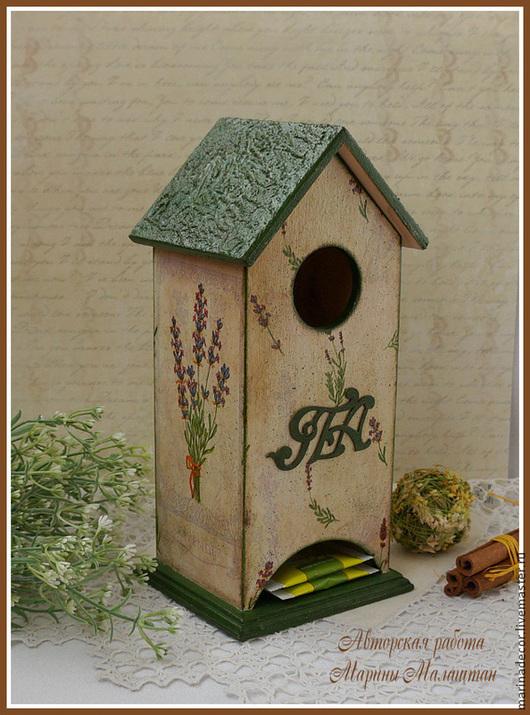 """Кухня ручной работы. Ярмарка Мастеров - ручная работа. Купить Чайный домик """"Лаванда"""". Handmade. Чайный домик, для кухни"""